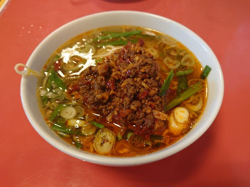 台湾料理【味仙】の台湾ラーメン