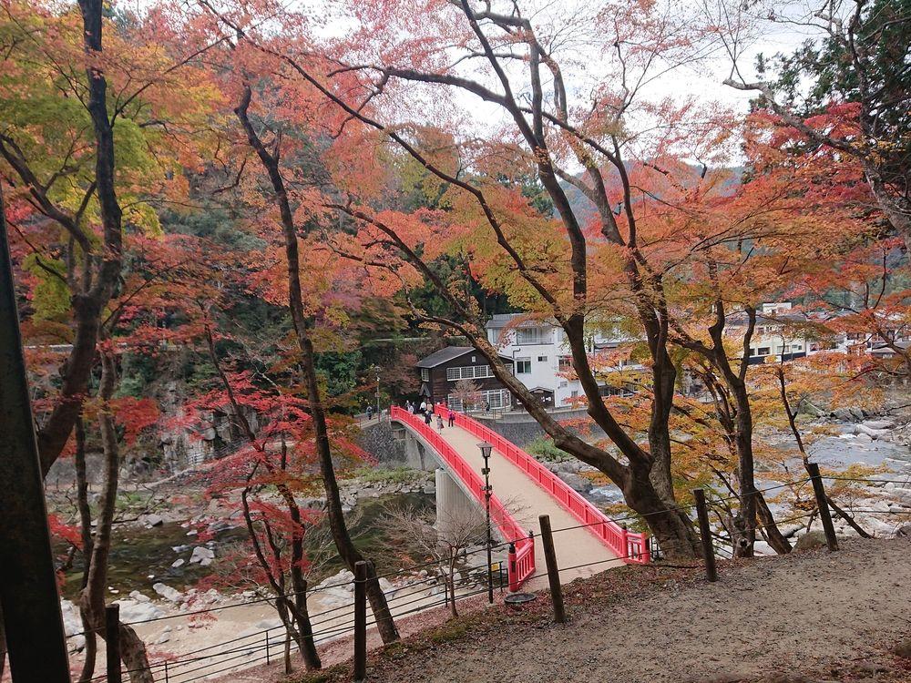 香嵐渓に行ってきました【愛知県豊田市足助町】