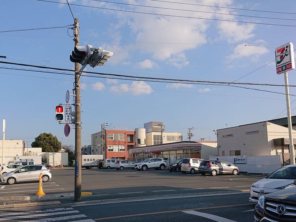 浜松市 コンビニエンスストア セブンイレブン 浜松幸町店