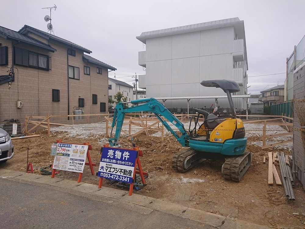 【幸五丁目新築住宅】基礎工事中です!
