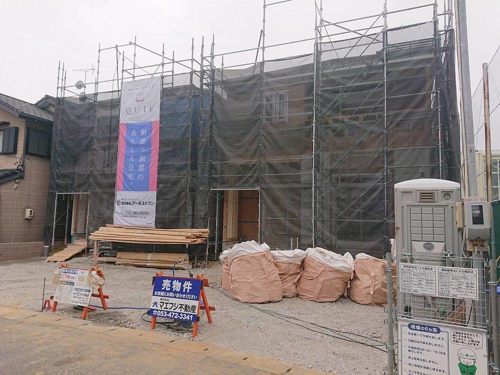 【幸五丁目新築住宅】上棟しました!