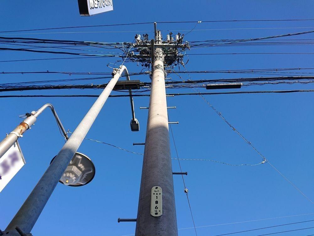 浜松市 不動産 電柱 電信柱