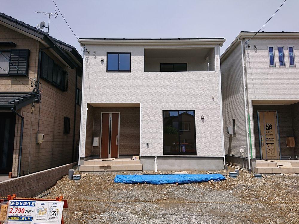 【幸五丁目新築住宅】完成間近です!