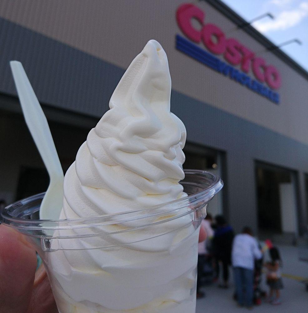 コストコ,ソフトクリーム,コストコホールセール浜松倉庫店