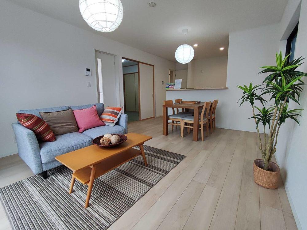 リビングに家具が設置されました!【幸五丁目新築住宅オープンハウス】