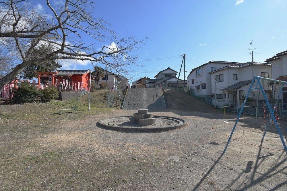 浜松市中区泉二丁目にある泉子供遊園、通称「神社公園」