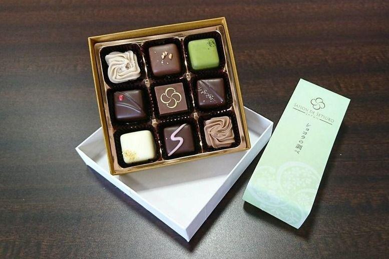 バレンタインデーの美味しそうなチョコレート