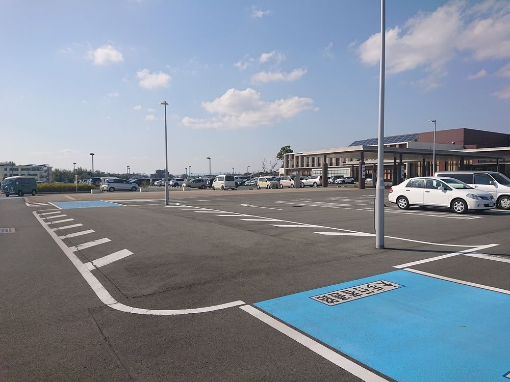 浜松市中区和合北浜松市リハビリテーション病院の駐車場
