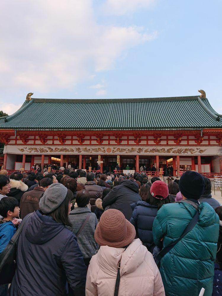 平安神宮 初詣